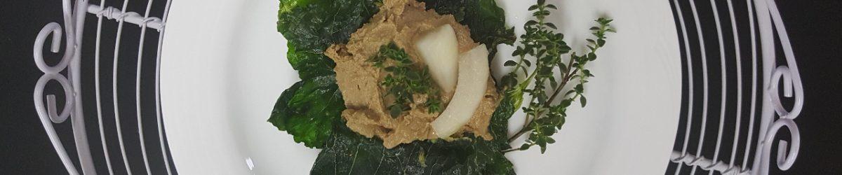 Chicken Liver Pâté with Turmeric & Thyme