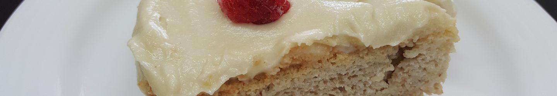 Lemony Vanilla Cake