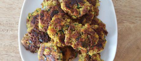 Meaty Zucchini Fritters