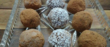 Dark & Smooth Chocolate Truffles